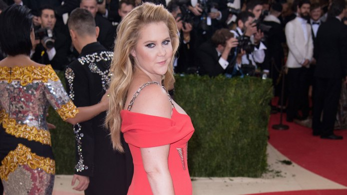Amy Schumer reveals that her first