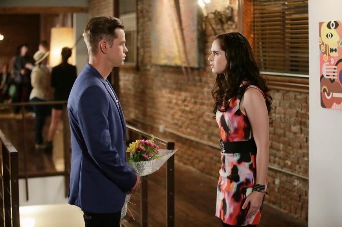 Travis and Bay on Switched at Birth