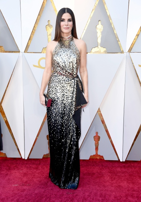 Sandra Bullock Oscars 2018
