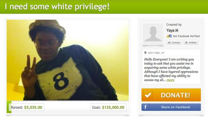 A woman is crowdfunding to buy