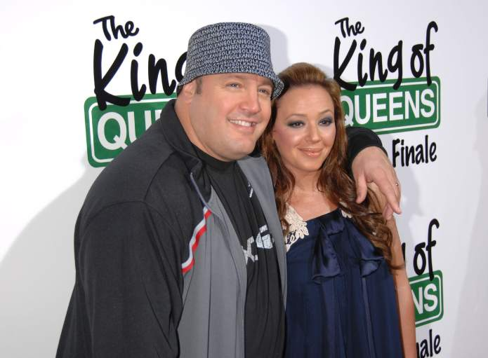 Leah Remini and Kevin James Are