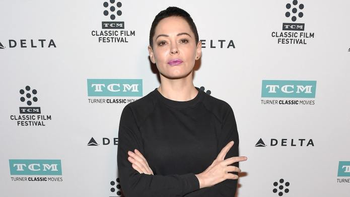 Rose McGowan Bashes the 'Silent Protest'