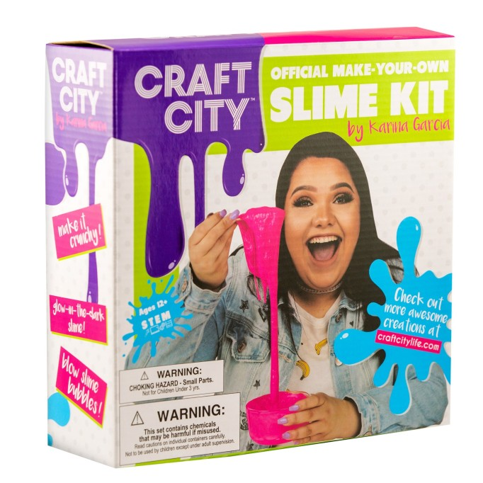 Holiday Gifts for Every Age: Craft City DIY Slime Kit | 2017 Holiday Gift Guide