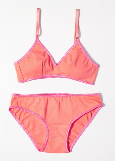The Best Summer Lingerie and Loungewear | Melon Organic Cotton Triangle Bra