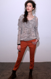NY Fashion Week 2012 -- Ainsley