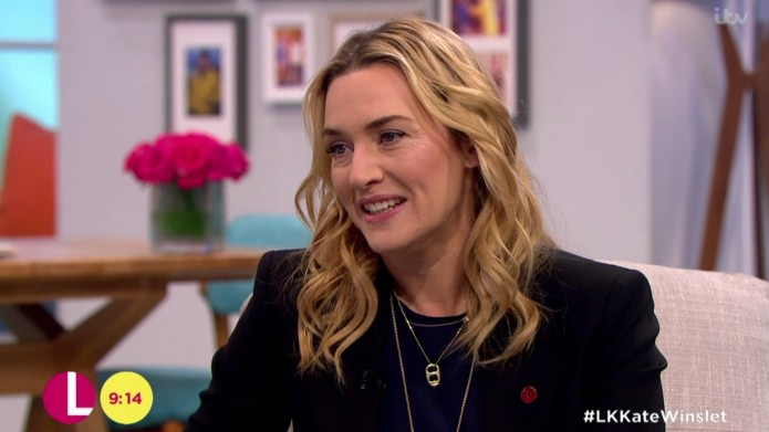 Kate Winslet is embarrassed by the