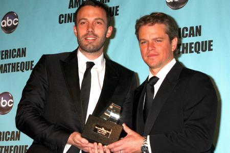 Matt Damon and Ben Affleck teaming