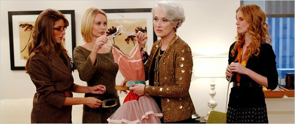 Meryl Streep in 'The Devil Wears Prada'