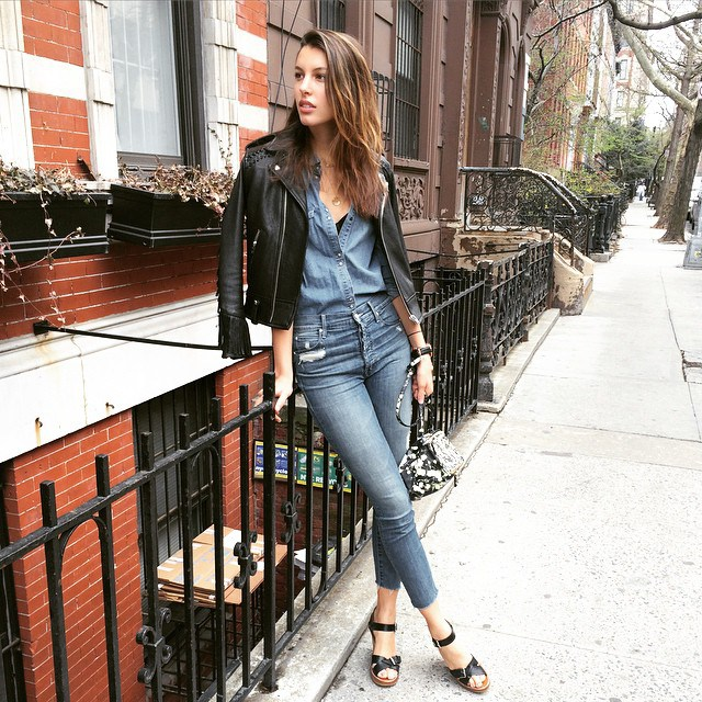 Ways To Wear A Canadian Tuxedo | Kate King