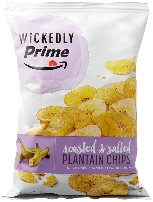 Wickedly Prime Plantain Chips, Roasted & Salted