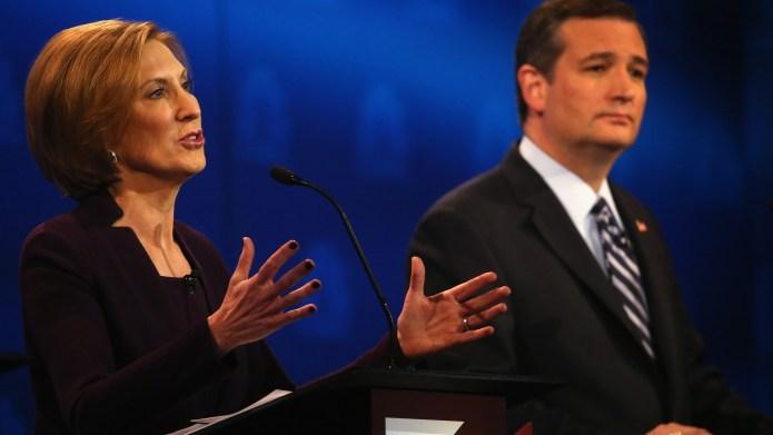Third GOP debate turns into 'cage
