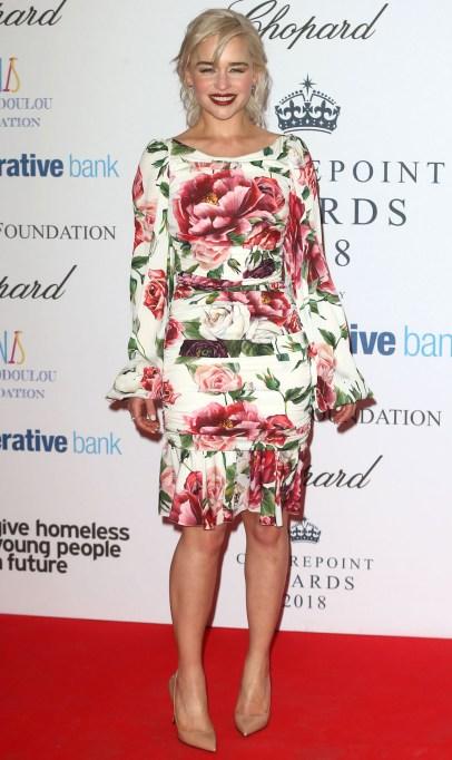 Emilia Clarke Centrepoint Awards