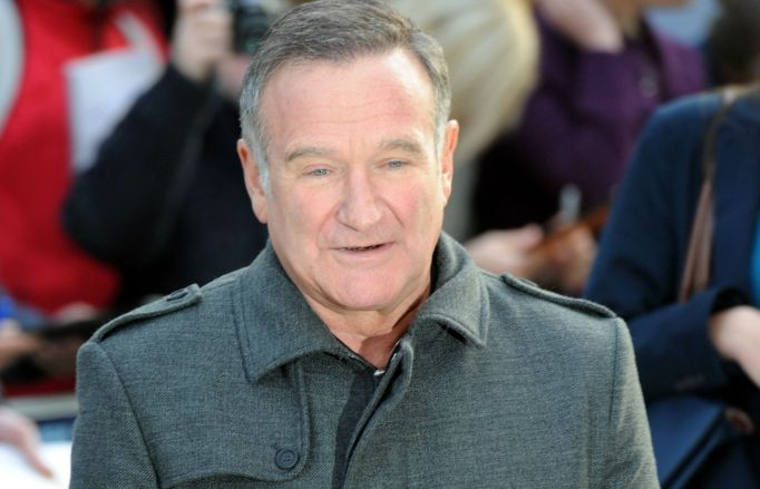 Robin Williams on red carpet
