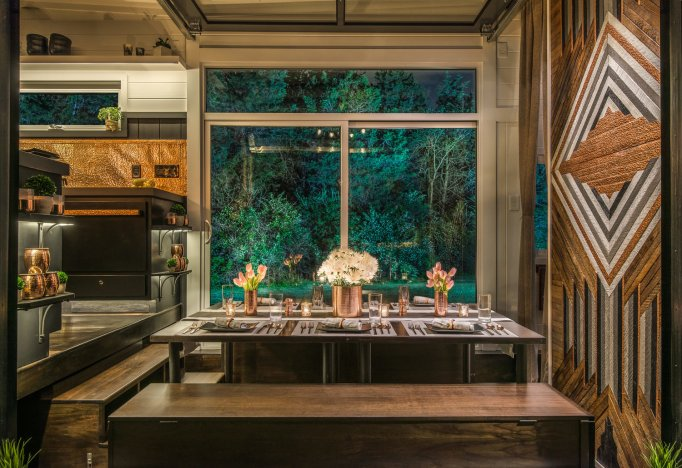 A Look Inside Some of the Most Glamorous Tiny Homes for Sale: the escher