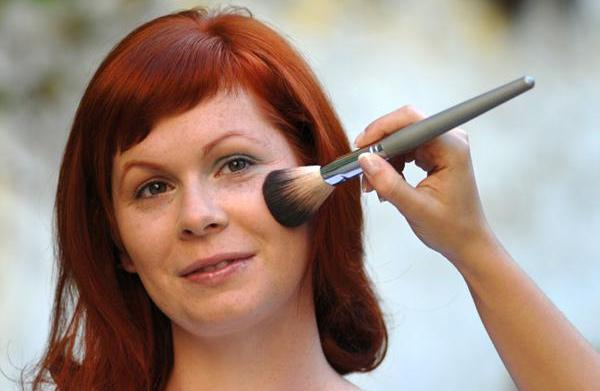 Best blush for redheads