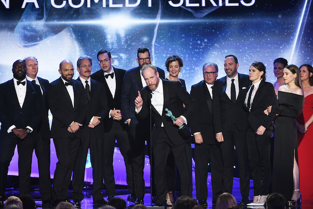 Best Winners' Speeches from the SAG Awards 2018: The Cast of 'Veep'