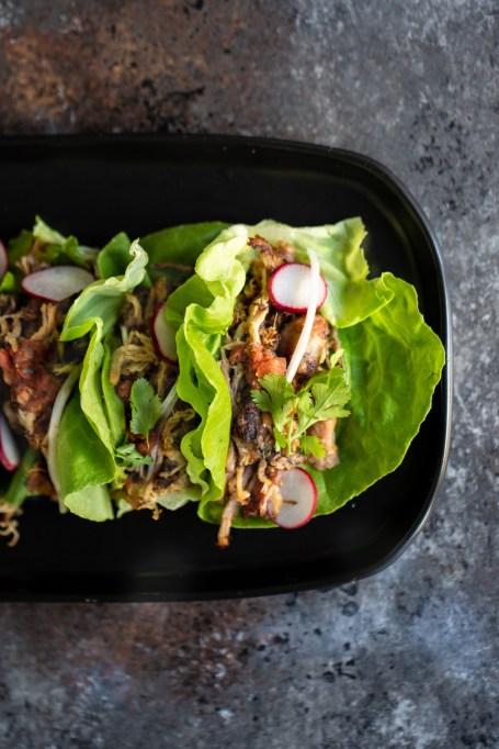 Instant Pot Carnitas Lettuce Wraps
