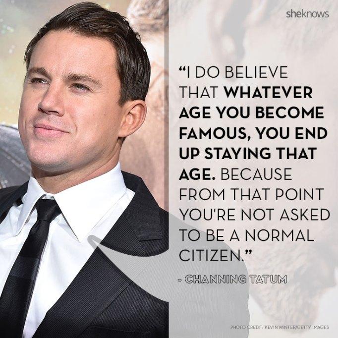 Channing Tatum quotes