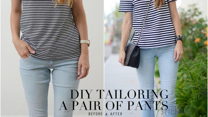 How to tailor a pair of jeans – SheKnows