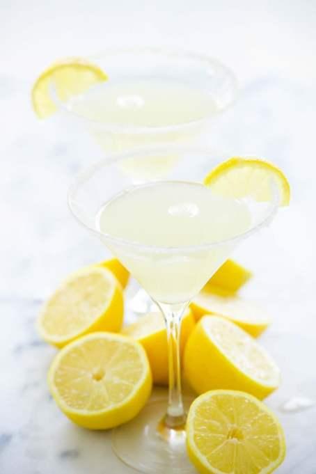 LaCroix Cocktails: Make a sparkling lemon drop martini