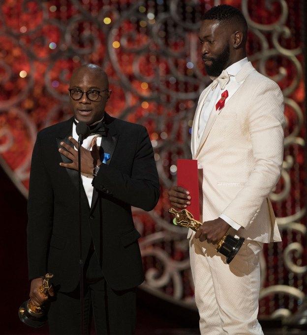 Barry Jenkins & Tarell Alvin McCraney Oscars 2017