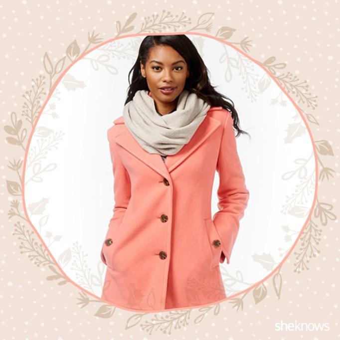 Salmon coat