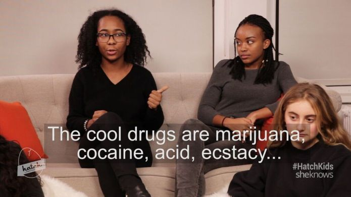 Kids' honest talk about the drugs