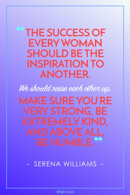 Inspiring Quotes From Female Athletes: Serena Williams