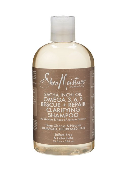 SheaMoisture Sacha Inchi Oil Omega 3, 6, 9 Rescue + Repair Clarifying Shampoo