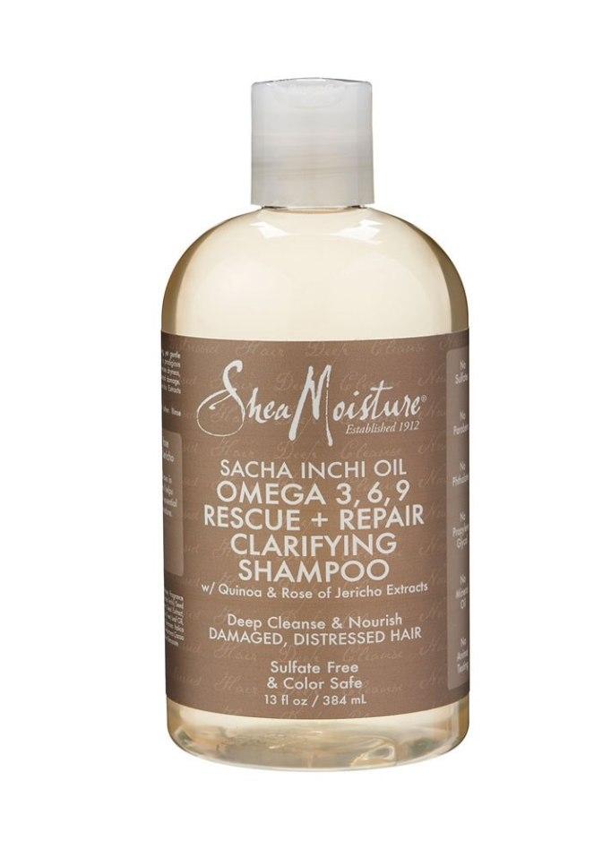 SheaMoisture Sacha Inchi Oil Omega 3, 6, 9 Rescue + Repair Clarifying Shampoo