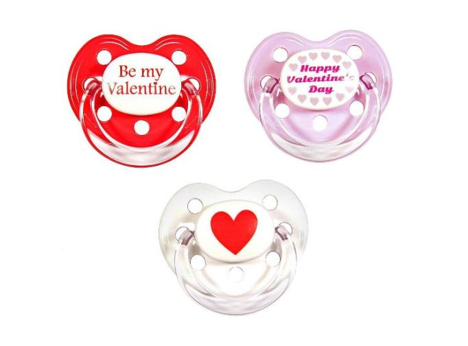 Gifts for Baby's First Valentine's Day: Pacifiers