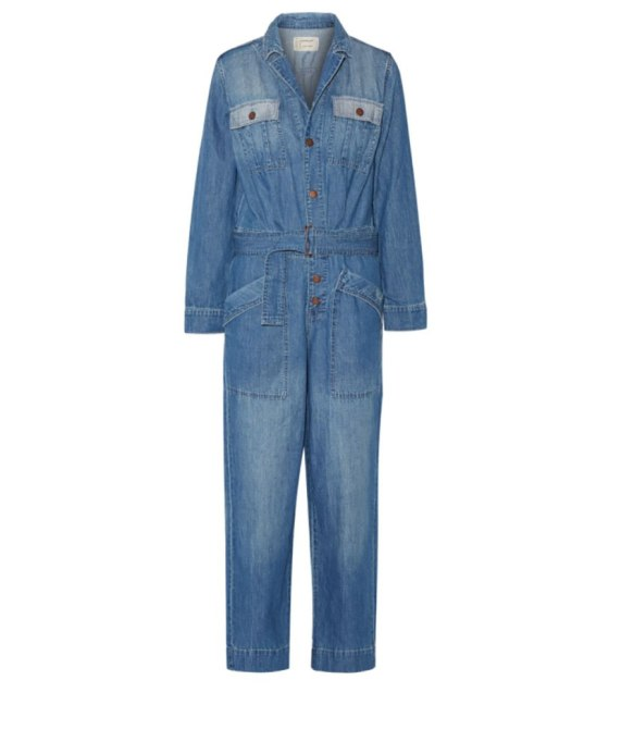 Cool Denim For Fall: The Whitney Denim Jumpsuit | Fall Fashion 2017