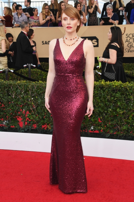 Non-Sample-Size Celebrities: Bryce Dallas Howard 2016 Golden Globes | Celeb Fashion 2017