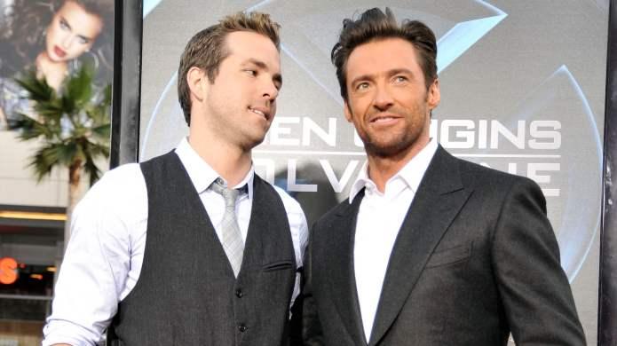 Ryan Reynolds & Hugh Jackman Are