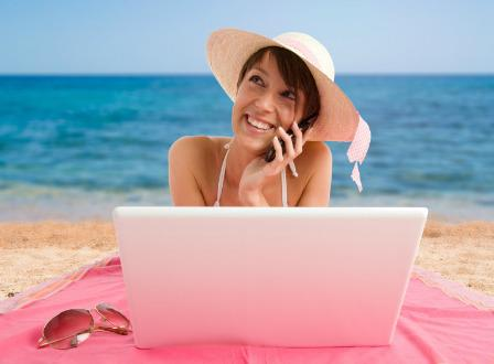 Vacationing in the digital age