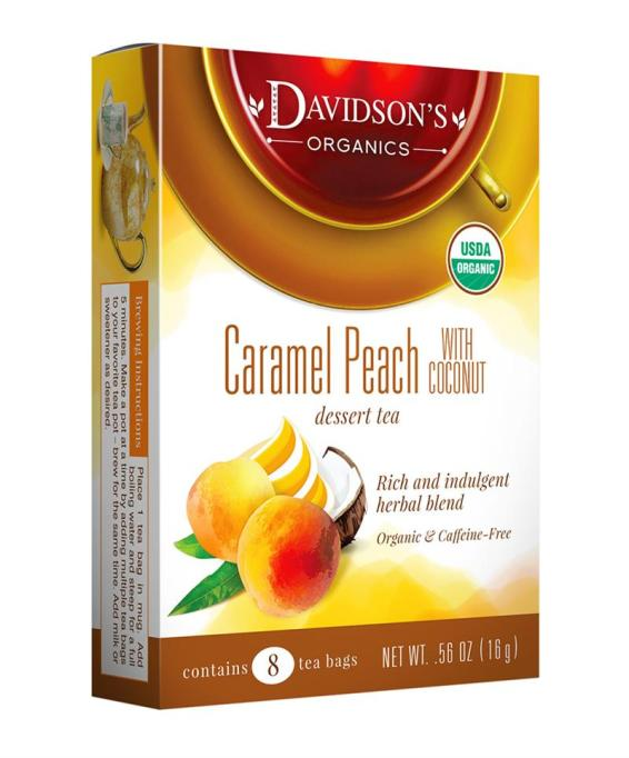 Davidson's caramel peach with coconut