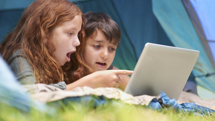 Enjoying technology in the great outdoors