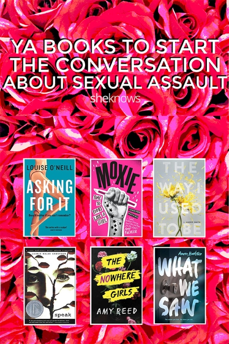 Pin it ! 7 Books To Start The Conversation About Sexual Assault