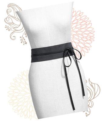 Leather obi belt, $108 at Nordstrom