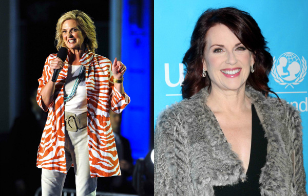 Ann Romney and Megan Mulally