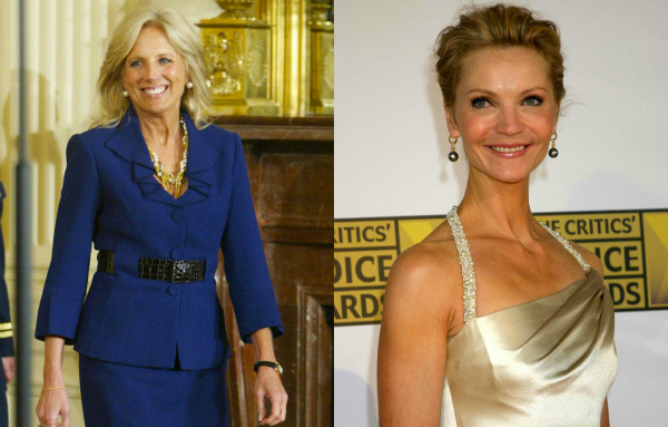 Jill Biden and Joan Allen