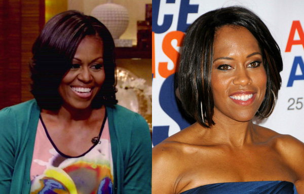 Michelle Obama and Regina King