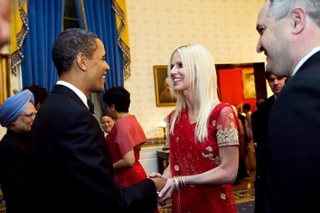 Nice to meet you President Obama, I'm Michaele Salahi and I'm not invited