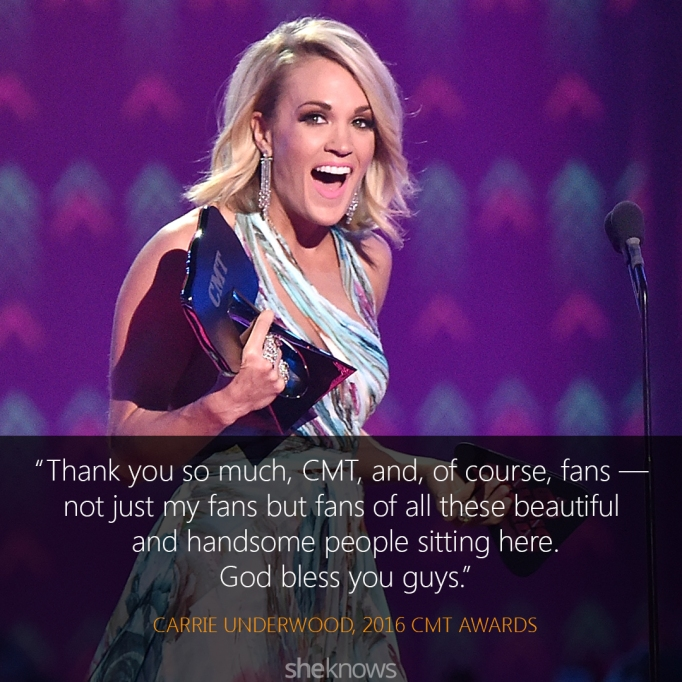 Carrie Underwood 2016 CMT Awards