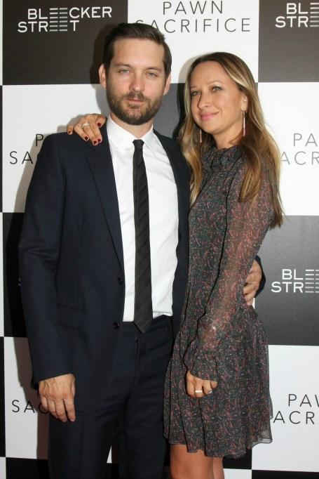 Jennifer Meyer & Tobey Maguire