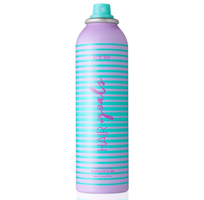 Products That Get Rid of Greasy Hair Fast   Tarte Hair Goals Dry Shampoo