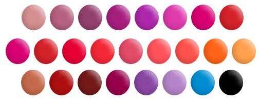 Obessive Compulsive Lip Tars: Lip colors