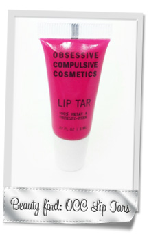 Obessive Compulsive Lip Tars: Lip color that lasts