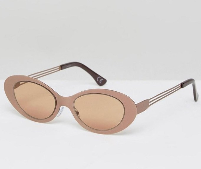 The Most Popular Sunglasses Styles: ASOS Full Metal Oval Cat Eye Sunglasses | Summer Fashion