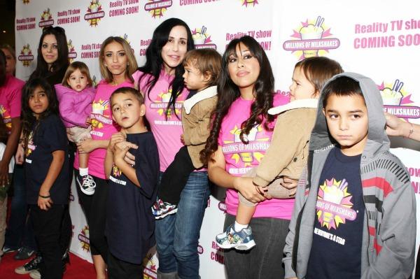 Octomom Nadya Suleman and Kids